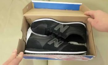 New Balance U420 Black / Black Unboxing Trainers / Sneakers