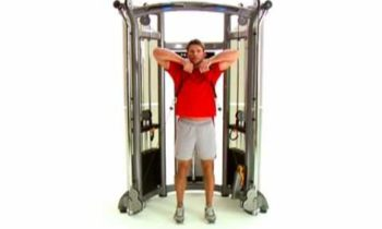 Strength Training Fitness Equipment | Matrix Fitness Functional Trainer Upright Row Exercise