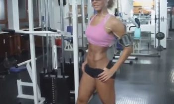 Female Fitness & Gym Training Motivation