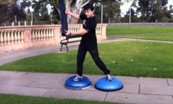 Play with one ViPR™ & BOSU® Balance Trainers