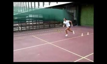 Speed and agility training for tennis