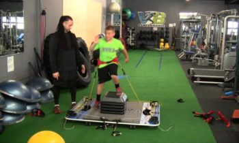 Youth Strength, Speed & Agility Training (Complete VertiMax Workout – Part 1 of 4)