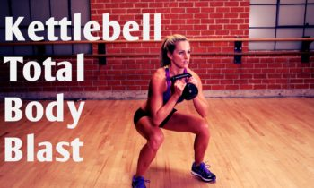 20 Minute Total Body Kettlebell Blast Workout for Strength and Cardio