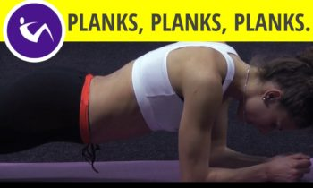 Plank exercise: best core workout (lower back, chest & shoulders) – for people with back problems