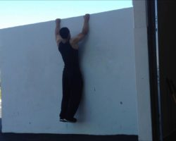 3 Bodyweight Exercises You Can Do With a Wall! (NO EXCUSES)