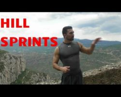 Hill Sprints Training Workout To Sprint Faster / Increase Speed/Lose Weight