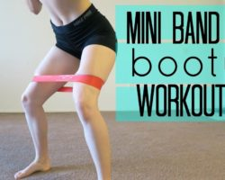 Mini Band Butt Workout | Build A Booty At Home | MFit