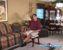 Senior Physical Fitness at Home : Knee Extension Exercise to Strengthen Thigh Muscles for Seniors
