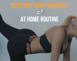 BUTT AND THIGH WORKOUT | AT HOME CIRCUIT