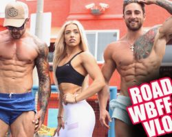 Squad Goals | WBFF Fitness Models Muscle Beach Workout