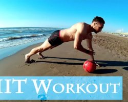 HIIT Workout on the Beach