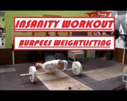 Burpees Weightlifting ★ Insanity Workout ★ Test 1 ★