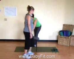 BabyFit's Lower Body Workout for Pregnancy
