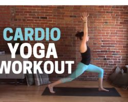 Yoga High Intensity Cardio Workout! Yoga HIIT Workout, Yoga for Weight Loss