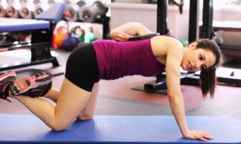 Push-Up Position for the Knees : Live a Fit Life