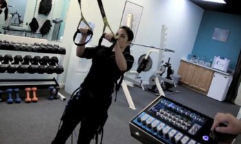 E-fit ( Electric Muscle Stimulation ) Combined with TRX @ 4U-Fitness