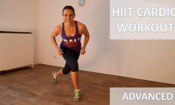 10 Minute Intense HIIT Cardio Workout – Short High Intensity Cardio Training Routine