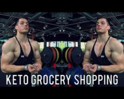 Keto Grocery Shopping | Arms/Shoulders Workout