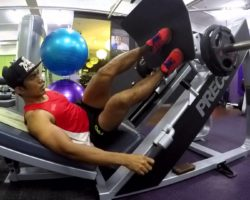 Full Body Workout at Anytime Fitness Toa Payoh