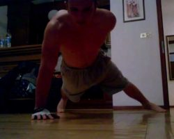 Push-Ups – Extreme Home Workout – [PART 1]