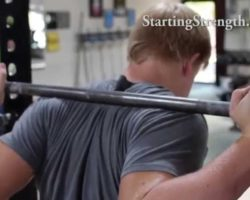 Proper grip in The Squat | Starting Strength