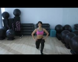 Static Lunge : Lunges & Lower Body Exercises