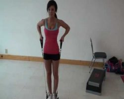 How to get rid of under arm fat with resistance bands