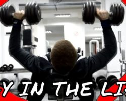 A FITNESS DAY IN THE LIFE OF A NATURAL TEEN LIFTER | Morning Cardio,Push Routine,Abs And Posing