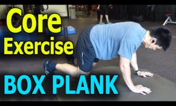 Core Exercises for Athletes: The Box Plank