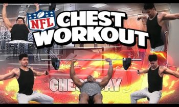 EPIC NFL CHEST WORKOUT FOR STRENGTH