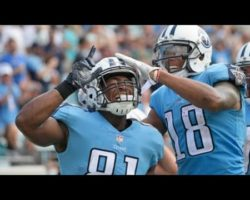 Tennessee Titans tight end Jonnu Smith sprints free for 32-yard TD