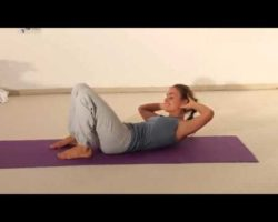 Yoga Beginners   Yoga Training   Young Girl Yogic Training for Lateral Abdominal Muscles New YouTube