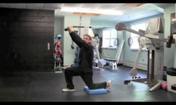 The Best Core Exercises – Core Training for Basketball – Greek God Press Iso Split Stance