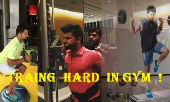 Suresh raina in gym |Training  hard | full body workout