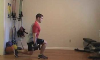 Lower Body Strength Exercise – Lunge Walk