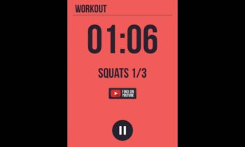 Free interval timer iPhone App for HIIT or Interval training