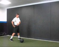 Softball Pitching Medicine Ball Exercises and Technique