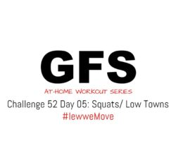 ▶️Challenge 52: Day 5 | Squats / Low-towns