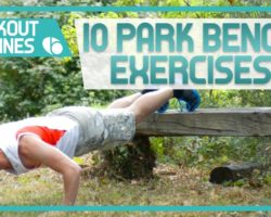 10 Park Bench Exercises