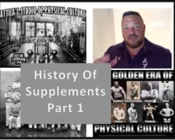 The History of Supplements Part 1