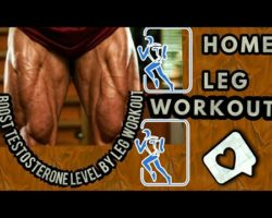 Home Leg Workout For Runners | 30 days leg challenge | Boost testosterone level by leg workout |