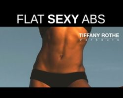 Get flat, sexy abs  with Tiffany Rothe Workouts 5 minute routine | TiffanyRotheWorkouts